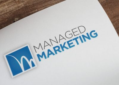 Managed Marketing Logo